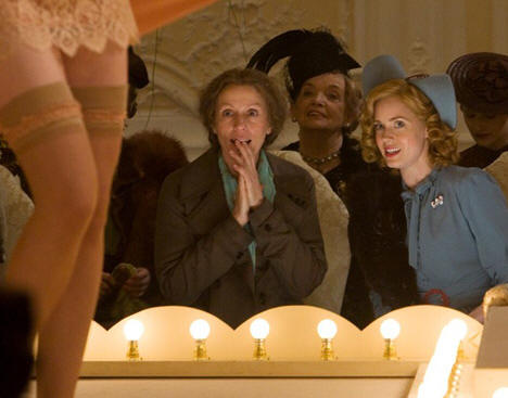 "Frances McDormand and Amy Adams in ""Miss Pettigrew Lives for a Day."""