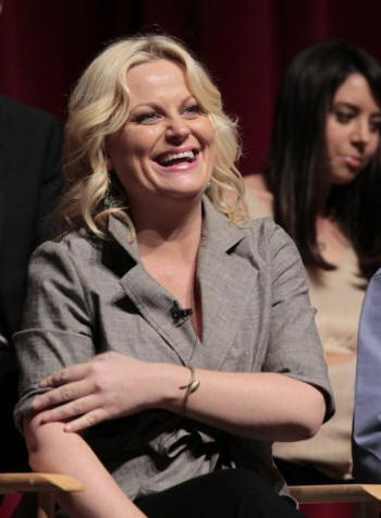 "PARKS AND RECREATION -- ""Emmy Screening"" -- Pictured: Amy Poehler -- Photo by: Chris Haston/NBC --  Wednesday, May 19, 2010 from the Leonard H. Goldenson Theatre, North Hollywood, Calif."