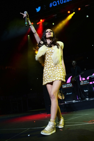 Cher Lloyd - Q102 Jingle Ball - The Wells Fargo Center - Philadelphia, PA - December 5, 2012 - photo courtesy of DKC � 2012