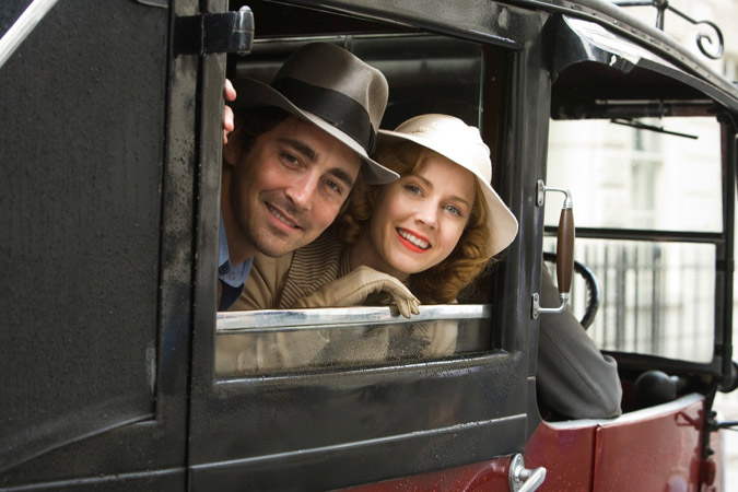 "Lee Pace and Amy Adams in ""Miss Pettigrew Lives for a Day."""