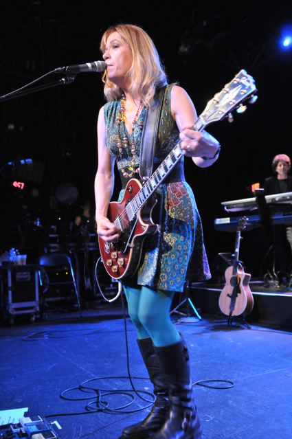 Vicki Peterson of The Bangles at the TLA in Philadelphia - October 1, 2011.  Photo copyright 2011: Jim Rinaldi.