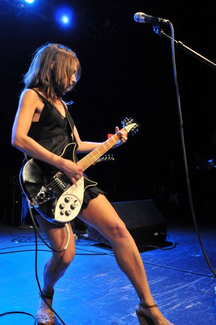 Suanna Hoffs of The Bangles at the TLA in Philadelphia - October 1, 2011.  Photo copyright 2011: Jim Rinaldi.