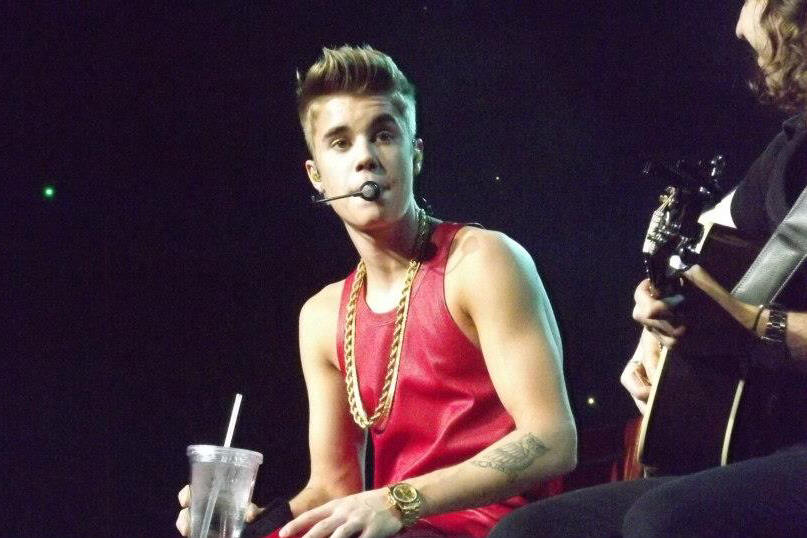 Justin Bieber - Q102 Jingle Ball - The Wells Fargo Center - Philadelphia, PA - December 5, 2012 - photo by Jackie Speiss � 2012