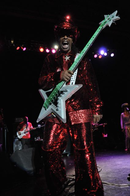Bootsy Collins - Keswick Theater - Glenside, PA - June 15, 2012 - photo by Jim Rinaldi � 2012