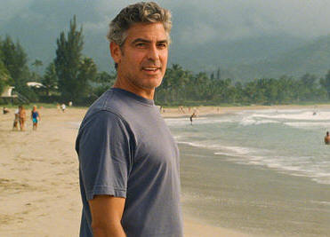 "George Clooney in the film ""The Descendants."""