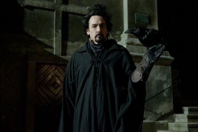"John Cusack plays Edgar Allen Poe in the Relativity Media film ""The Raven."""