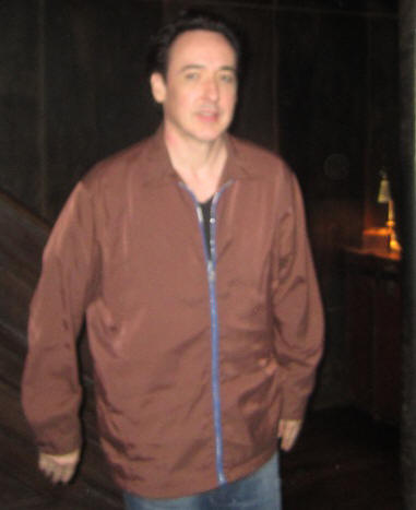 "John Cusack at the New York Press Day for ""The Raven"" at the Vault at Pfaff's, New York, NY, April 18, 2012."