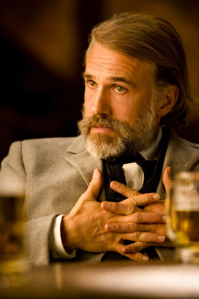 "Christoph Waltz stars as King Schultz in ""Django Unchained."""