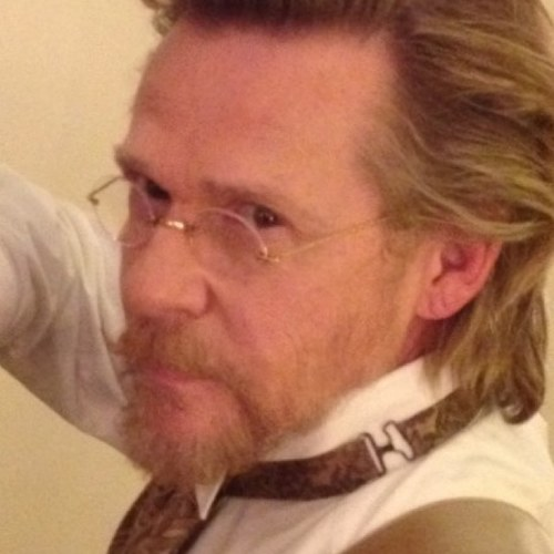 "Dennis Christopher stars as Leonide Moguy in ""Django Unchained."""