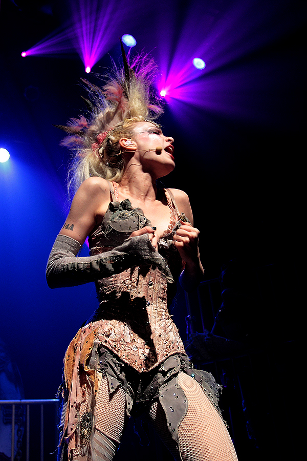 Emilie Autumn - Gramercy Theater - New York, NY - February 18, 2012 - photo by Mark Doyle � 2012