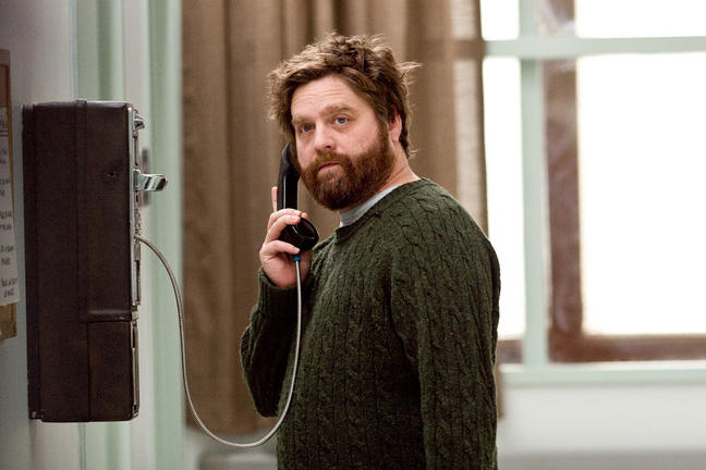 Zach Galifianakis stars in writer/directors Anna Boden and Ryan Fleck's IT'S KIND OF A FUNNY STORY, a Focus Features Release.