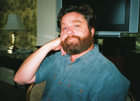 Zach Galifianakis at the press junket for 'It's Kind of a Funny Story' at the Waldorf-Astoria Hotel, New York, New York, September 16, 2010