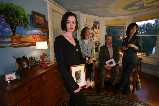Anne Hathaway, Debra Winger, Bill Irwin and Rosemarie DeWitt in 'Rachel Getting Married.'