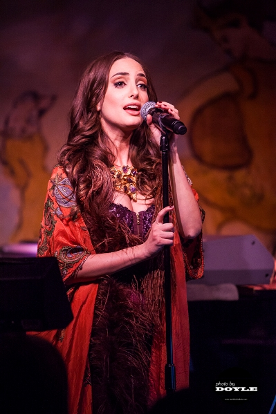 Alexa Ray Joel - Caf� Carlyle - New York, NY - April 8, 2014 - photo by Mark Doyle � 2014