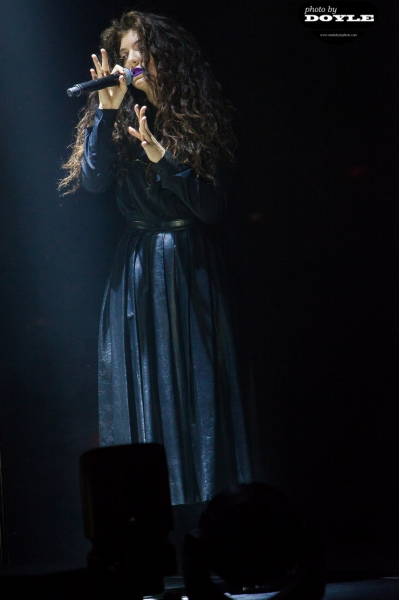 Lorde - Roseland Ballroom - New York, NY - March 11, 2014 - photo by Mark Doyle � 2014