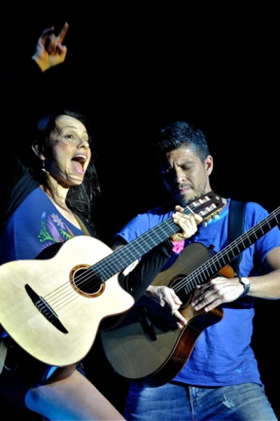 Rodrigo y Gabriela - 2014 XPoNential Music Festival Day One - The River Stage at Wiggins Park - Camden, NJ - July 25, 2014 - photo by Jim Rinaldi � 2014