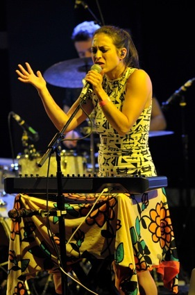 St. Lucia - World Caf� Live - Philadelphia, PA - January 12, 2014 - photo by Jim Rinaldi � 2014