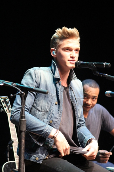 Cody Simpson - The Prince Music Theater - Philadelphia, PA - January 19, 2014 - photo by Sami Speiss � 2014