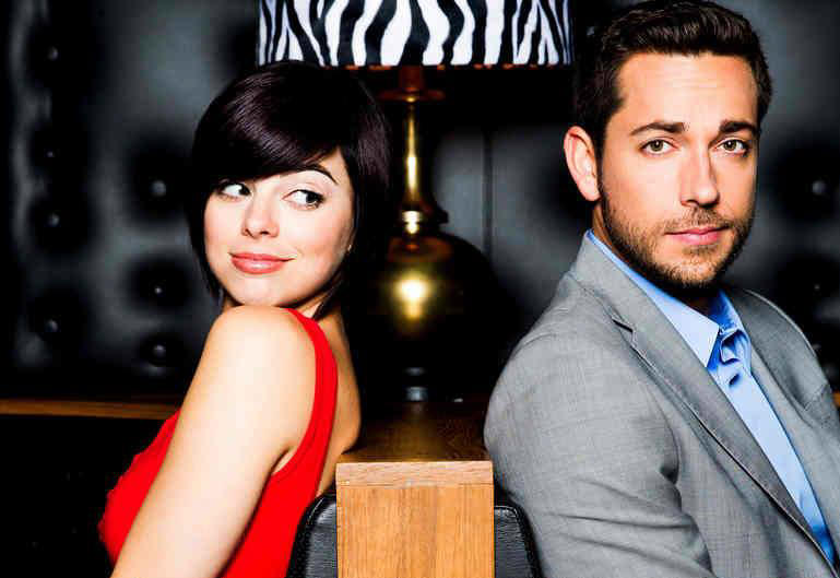 Krysta Rodriguez amd Zachary Levi star in FIRST DATE.