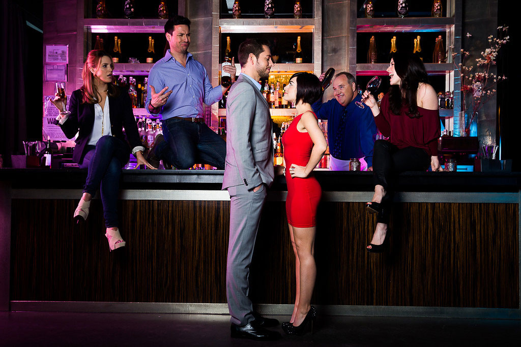 Sarah Chase, Kristoffer Cusick, Zachary Levi, Krysta Rodriguez, Blake Hammond and Kate Loprest star in FIRST DATE.