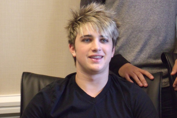Dalton Rapattoni of IM5 at the Philadelphia Fall Fan Fest, November 17, 2013.