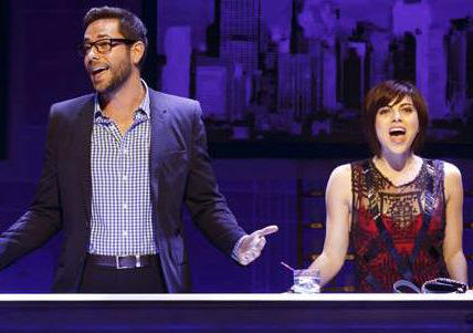 Zachary Levi and Krysta Rodriguez star in FIRST DATE.