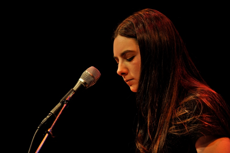 Lindsey Cohen at World Cafe Live, Philadelphia, PA, May 20, 2014.
