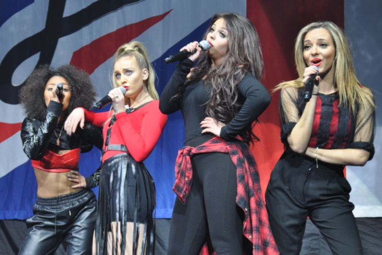 Little Mix - Susquehanna Bank Center - Camden, NJ - March 1, 2014 - photo by Julia Shepherd � 2014