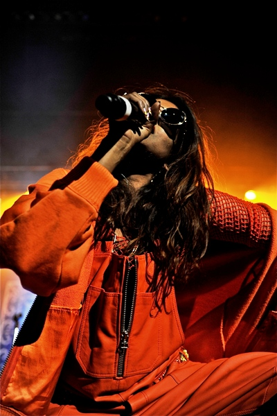 M.I.A. - Tower Theater - Upper Darby, PA - April 25, 2014 - photo by Jim Rinaldi � 2014