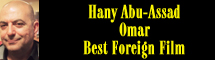 2014 Oscar Nominee - Hany Abu-Assad - Best Foreign Language Film - Omar