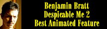 2014 Oscar Nominee - Benjamin Bratt - Best Animated Feature - Despicable Me 2