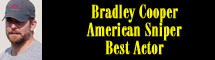 2015 Oscar Nominee - Bradley Cooper - Best Actor - American Sniper