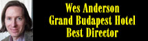 2015 Oscar Nominee - Wes Anderson - Best Director - The Grand Budapest Hotel