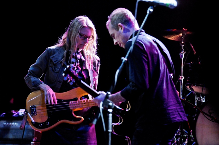 The Both (Aimee Mann and Ted Leo) - Union Transfer - Philadelphia, PA - May 3, 2014 - photo by Jim Rinaldi � 2014