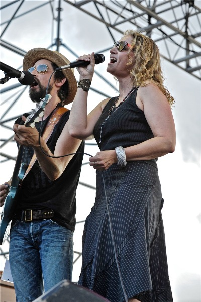 Trigger Hippy featuring Joan Osborne - 2014 XPoNential Music Festival Day Three - Susquehanna Bank Center, The River Stage at Wiggins Park - Camden, NJ - July 27, 2014 - photo by Jim Rinaldi � 2014