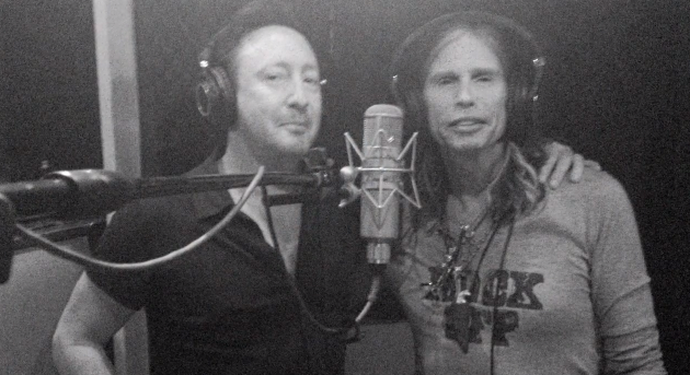Julian Lennon and Steven Tyler