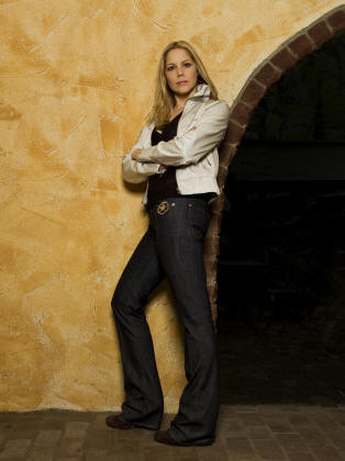 Mary McCormack in 'In Plain Sight.'