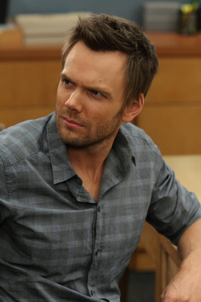"COMMUNITY -- ""Advanced Gay"" Episode 306 -- Pictured: Joel McHale as Jeff -- Photo by: Justin Lubin/NBC"