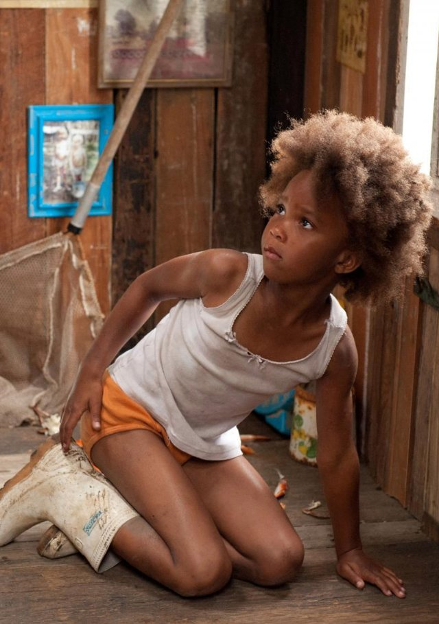 "Quvenzhané Wallis stars in ""Beasts of the Southern Wild."""