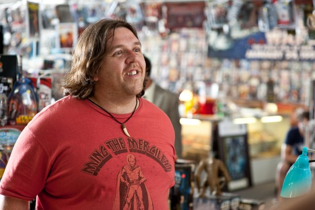 Nick Frost in the movie PAUL.