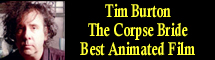 2006 Oscar Nominee - Tim Burton - Best Animated Feature - The Corpse Bride