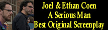 2010 Oscar Nominee - Joel & Ethan Coen - Best Original Screenplay - A Serious Man