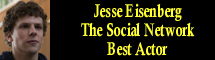 2011 Oscar Nominee - Jesse Eisenberg - Best Actor - The Social Network