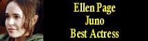 2008 Oscar Nominee - Ellen Page - Best Actress - Juno