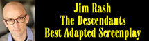 2012 Oscar Nominee - Jim Rash - Best Adapted Screenplay - The Descendants