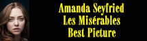 2013 Oscar Nominee - Amanda Seyfried - Best Picture - Les Mis�rables