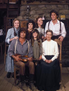 Little House on the Prairie - 1979 - (l to r) Melissa Gilbert, Michael Landon, Matthew Laborteaux, Lindsay Greenbush, Melissa Sue Anderson, Karen Grassle and Linwood Boomer