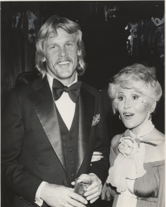Rona Barrett with Nick Nolte