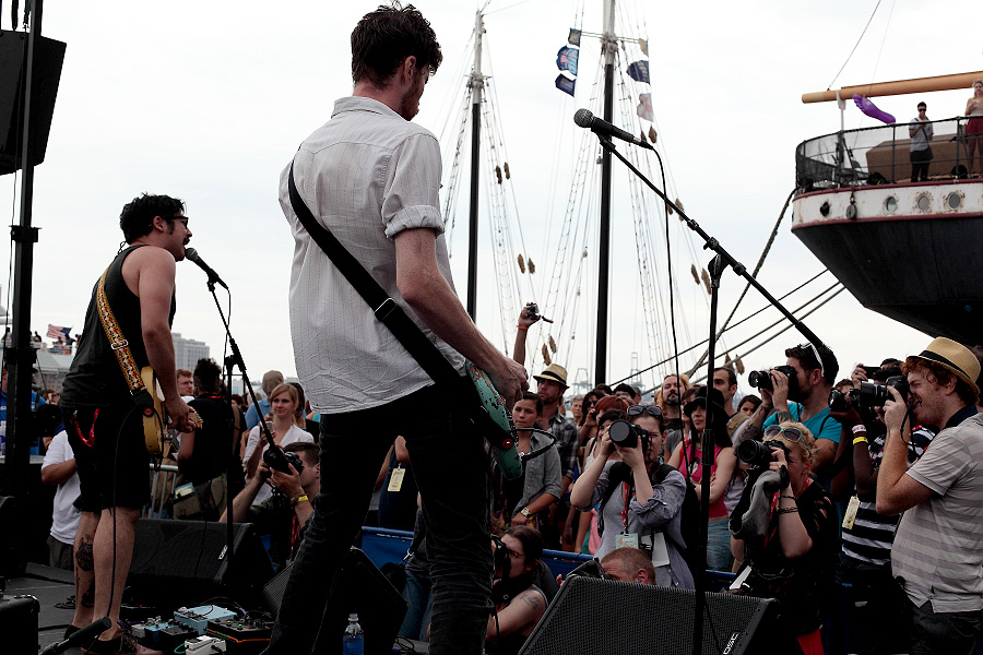 Team Spirit - The 4Knots Music Festival - South Street Seaport - New York, NY - July 14, 2012 - photo by Mark Doyle � 2012