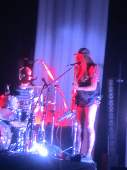 The Ting Tings - The Trocadero - Philadelphia, PA - April 13, 2012 - photo by Jay S. Jacobs � 2012